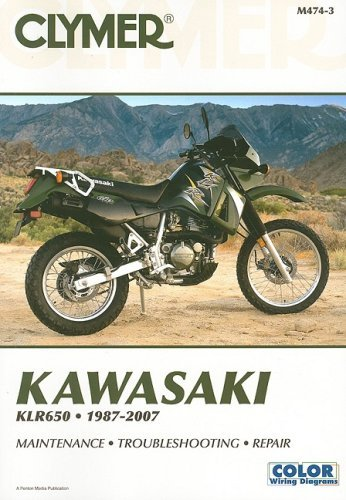 klr650 1987 2007 wiring diagram dodge ram 1987 d150 wiring diagram by james grooms – kawasaki klr 650 1987-2007: 3 (clymer ...